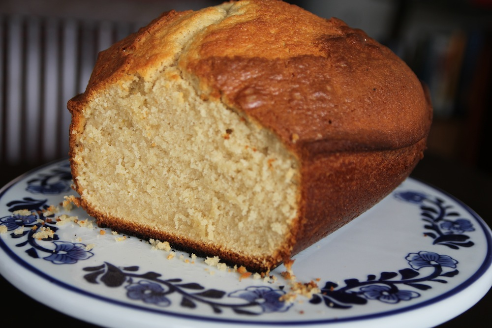 Vainilla Pound cake
