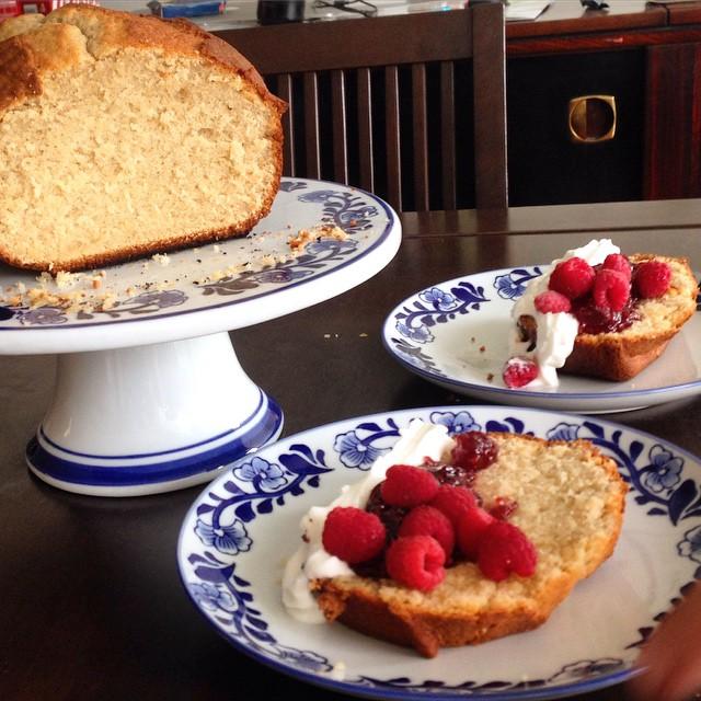 Vanilla Pound Cake - Keke de Vainilla