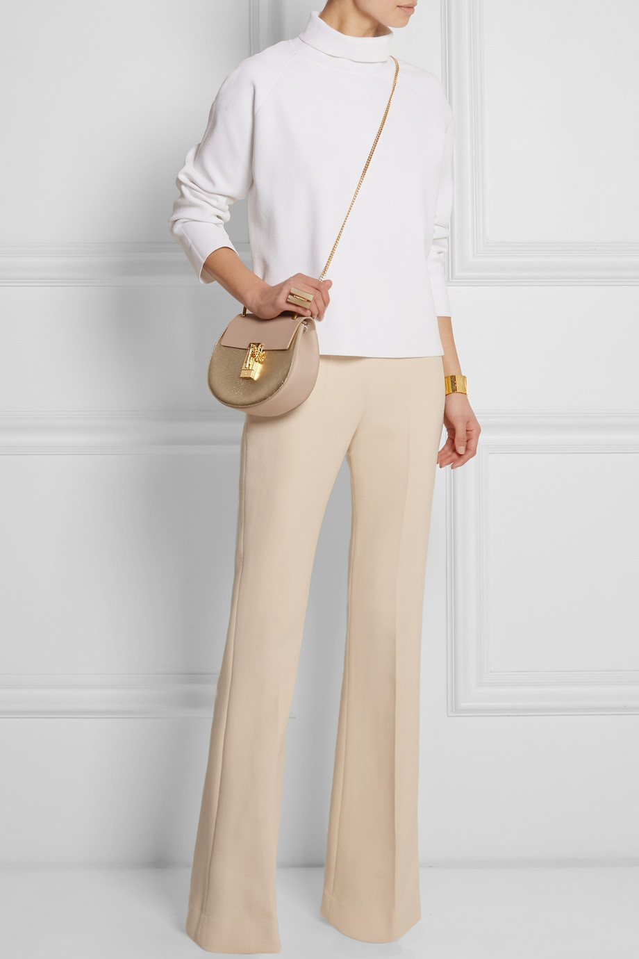 carven flared pants