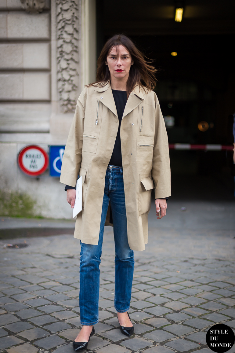 french style trench coat