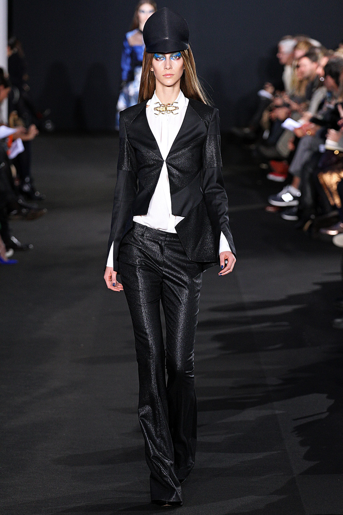 prabal gurung flared pants 2013