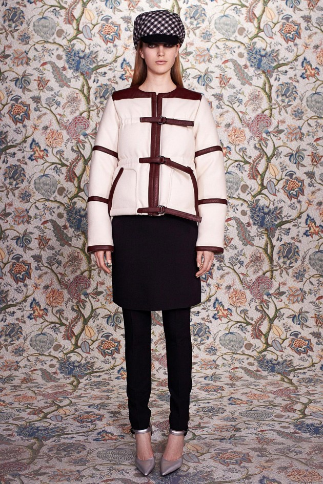 balenciaga dress over pants fall 2012