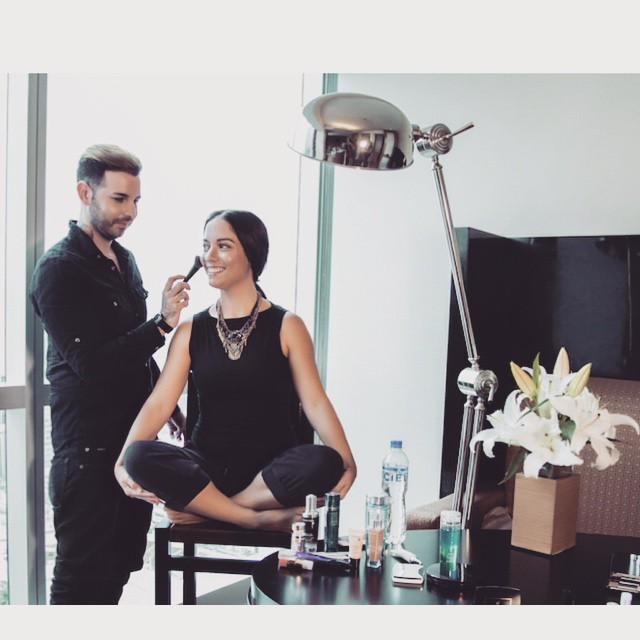 contouring makeup lancome