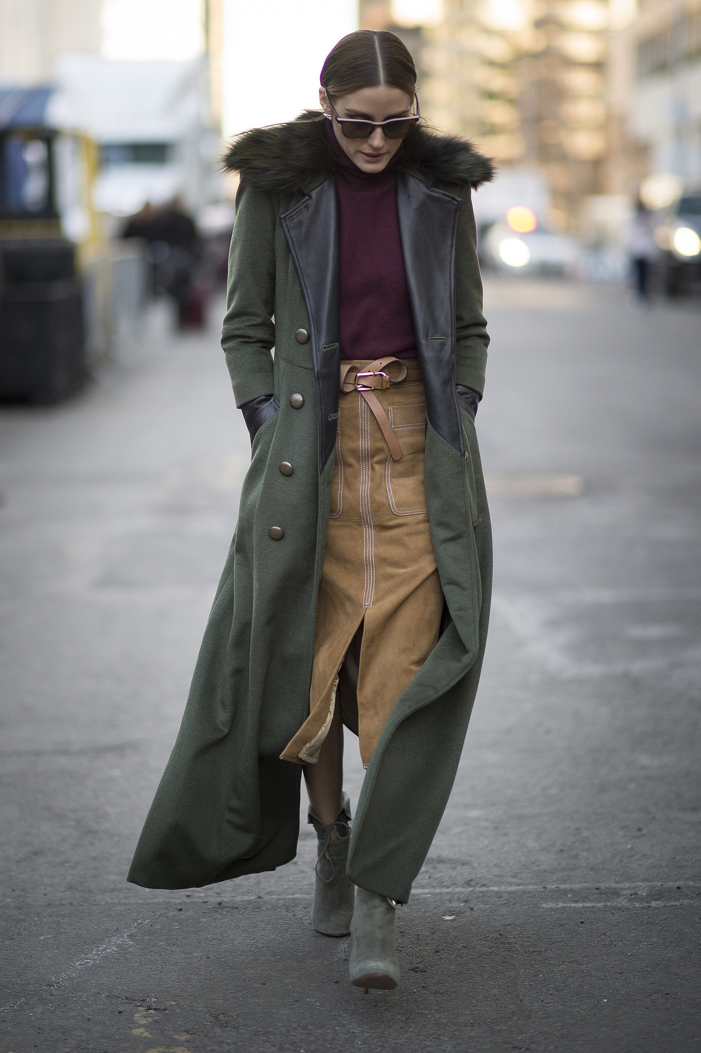 olivia palermo military coat