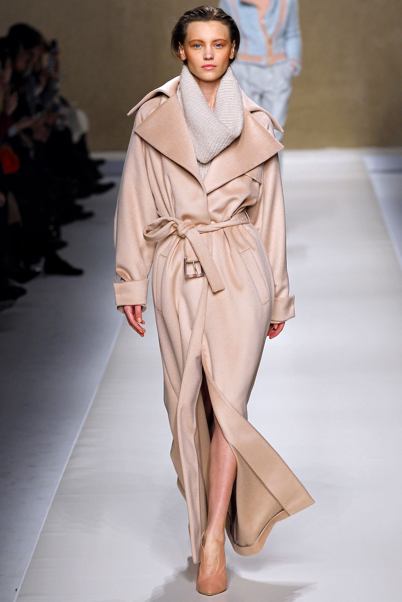 a blumarine wrap coat