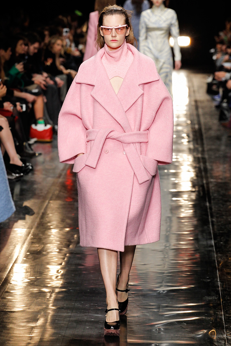 a carven wrap coat