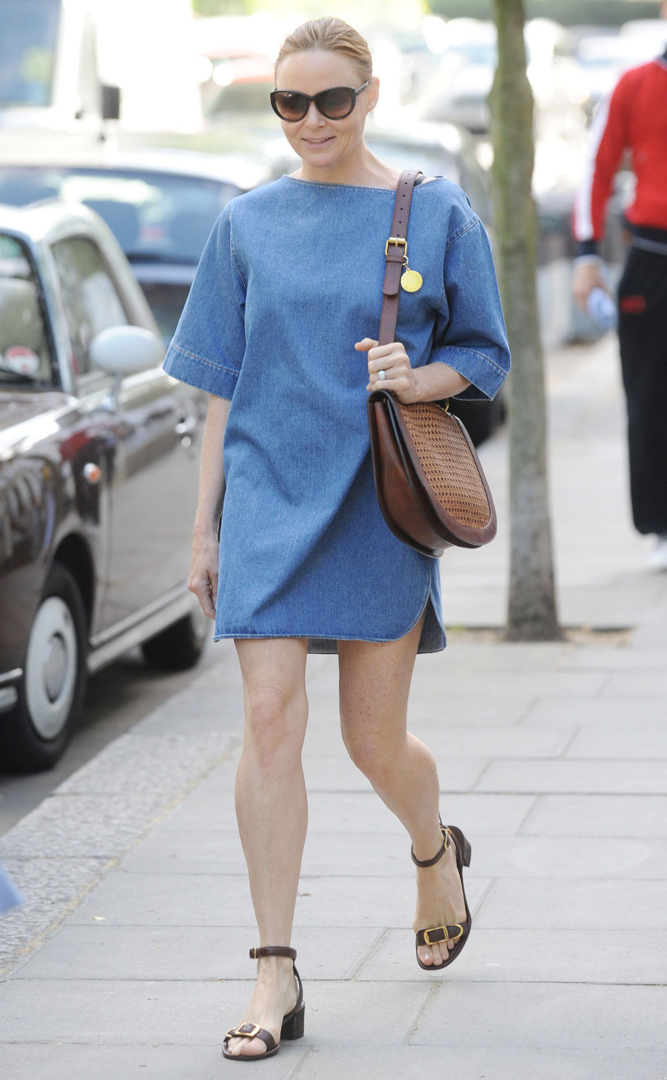 denim dress oversized street style 2 stella mccartney