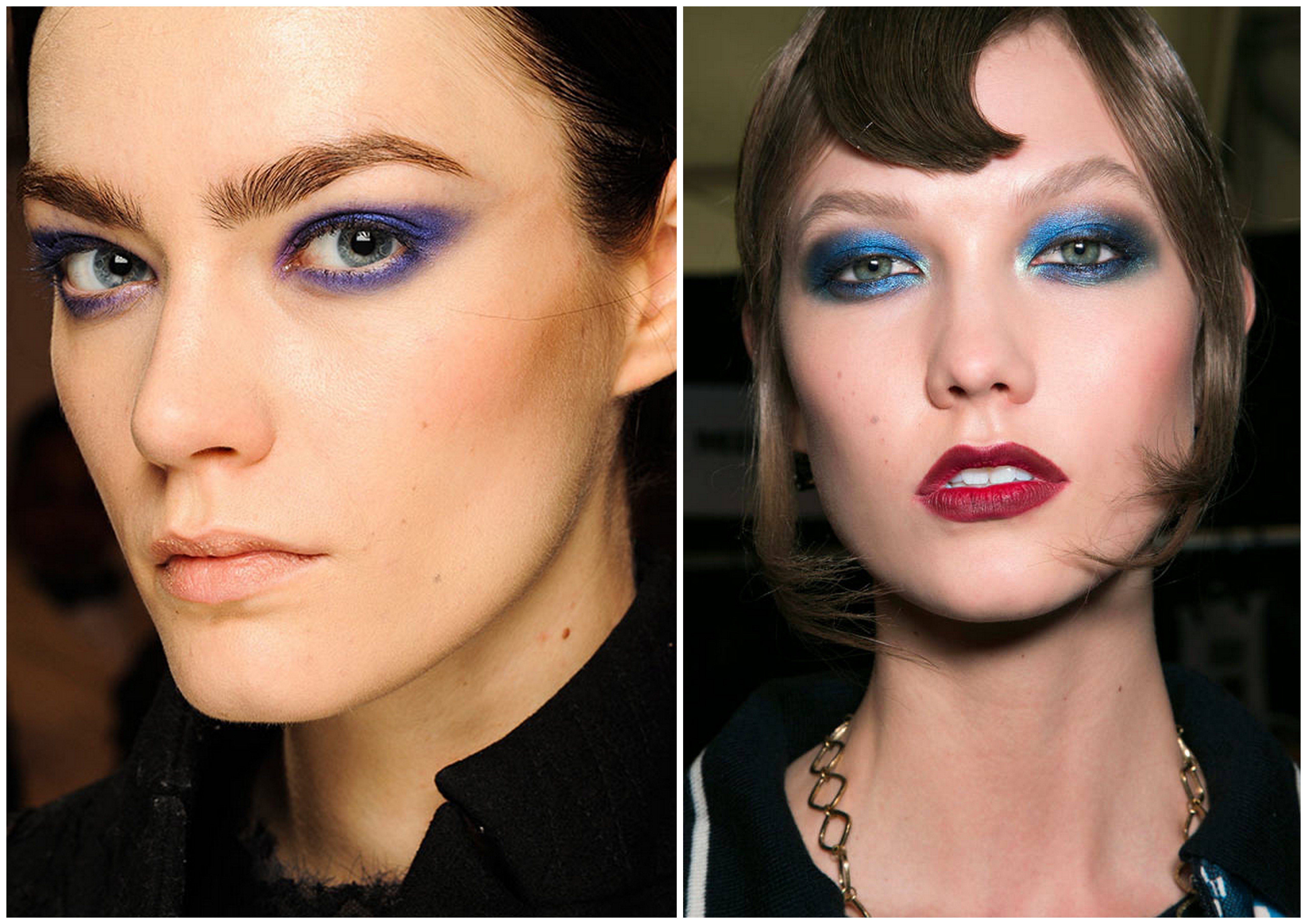 one color eyeshadow trend