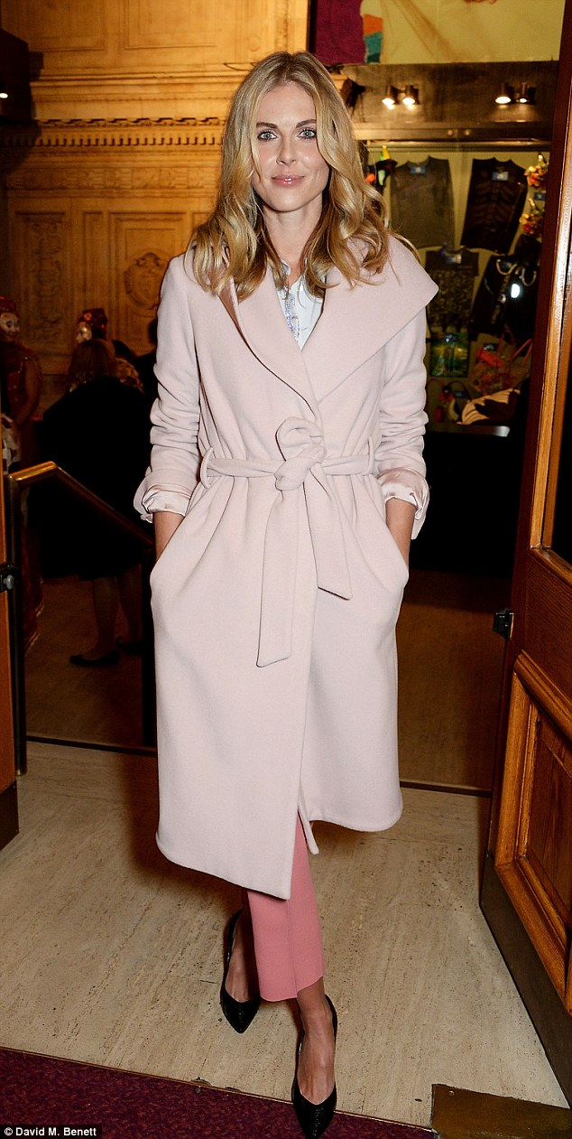 wrap coat pastels