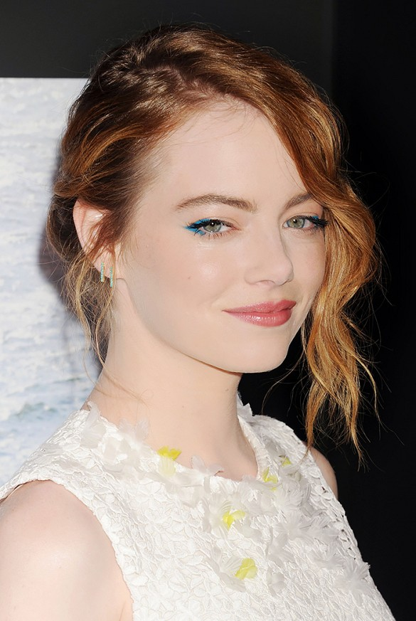 emma stone electric eyes trend