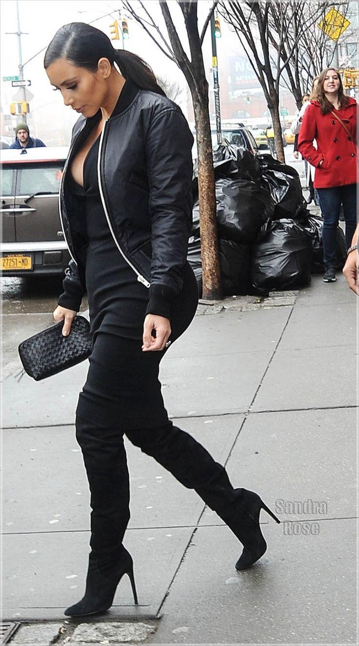 kim kardashian over the knee boots 2