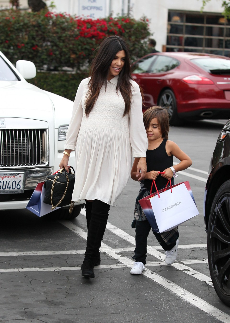 kourtney kardashian over the knee boots