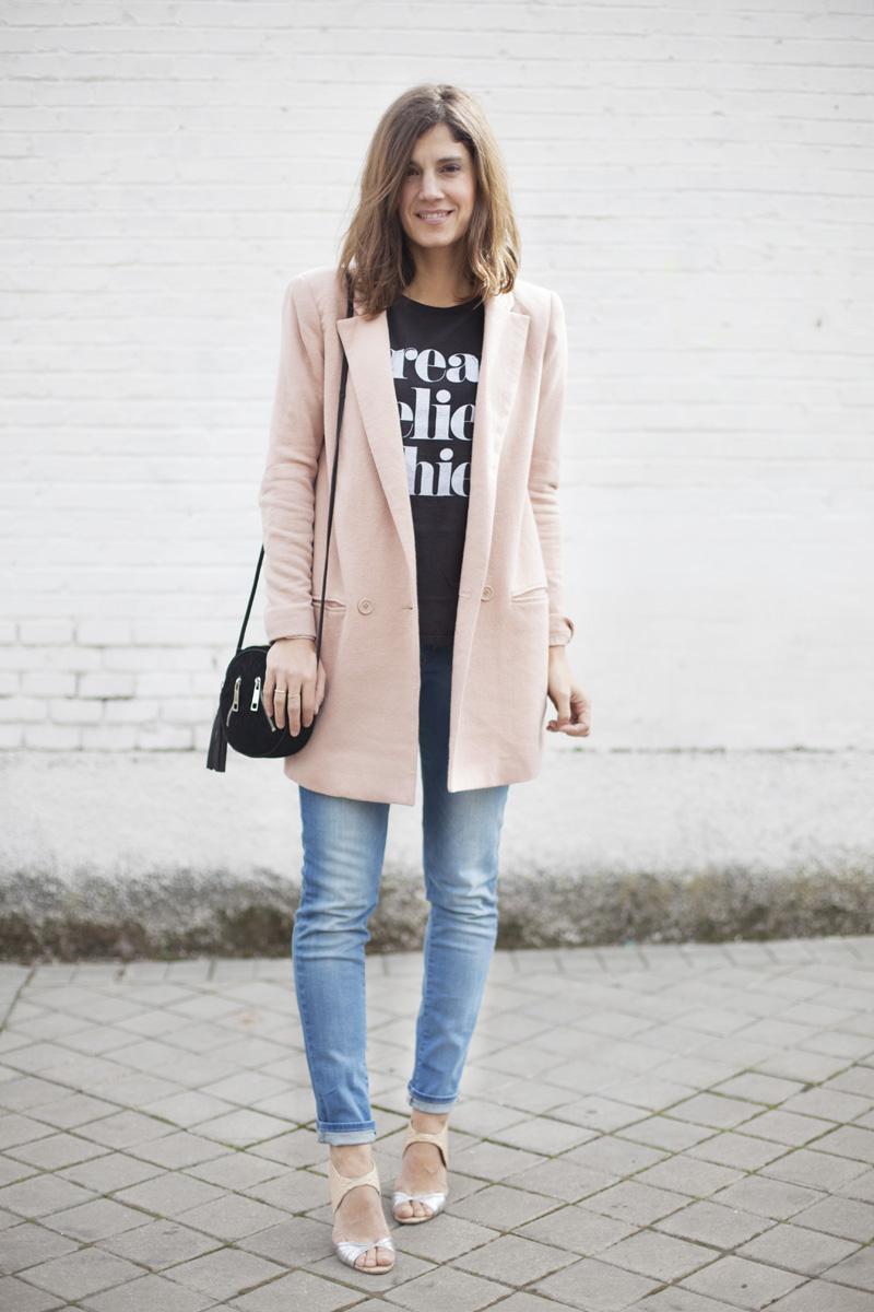 long blazer street style 2