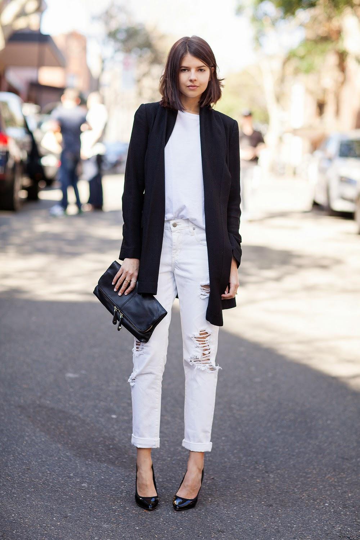 long blazer street style 5