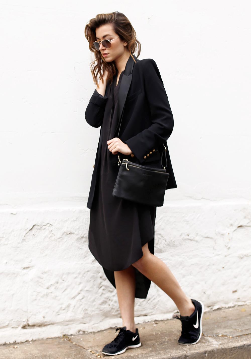 long blazer street style