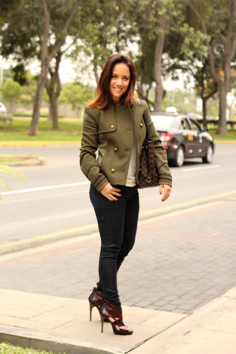 serendipity army jacket black jeans 2
