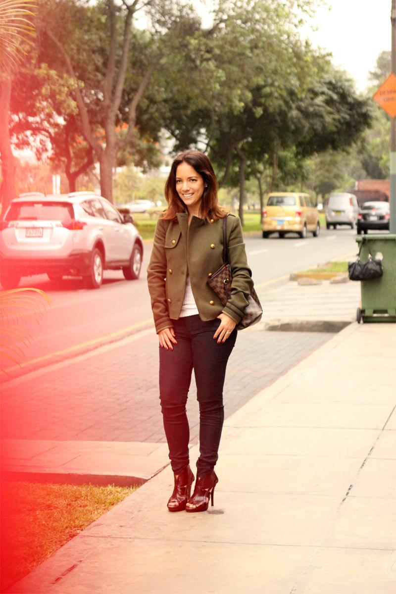 serendipity army jacket black jeans 7