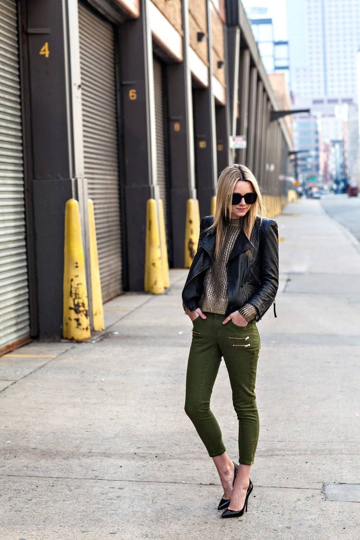 army green pants trend 3