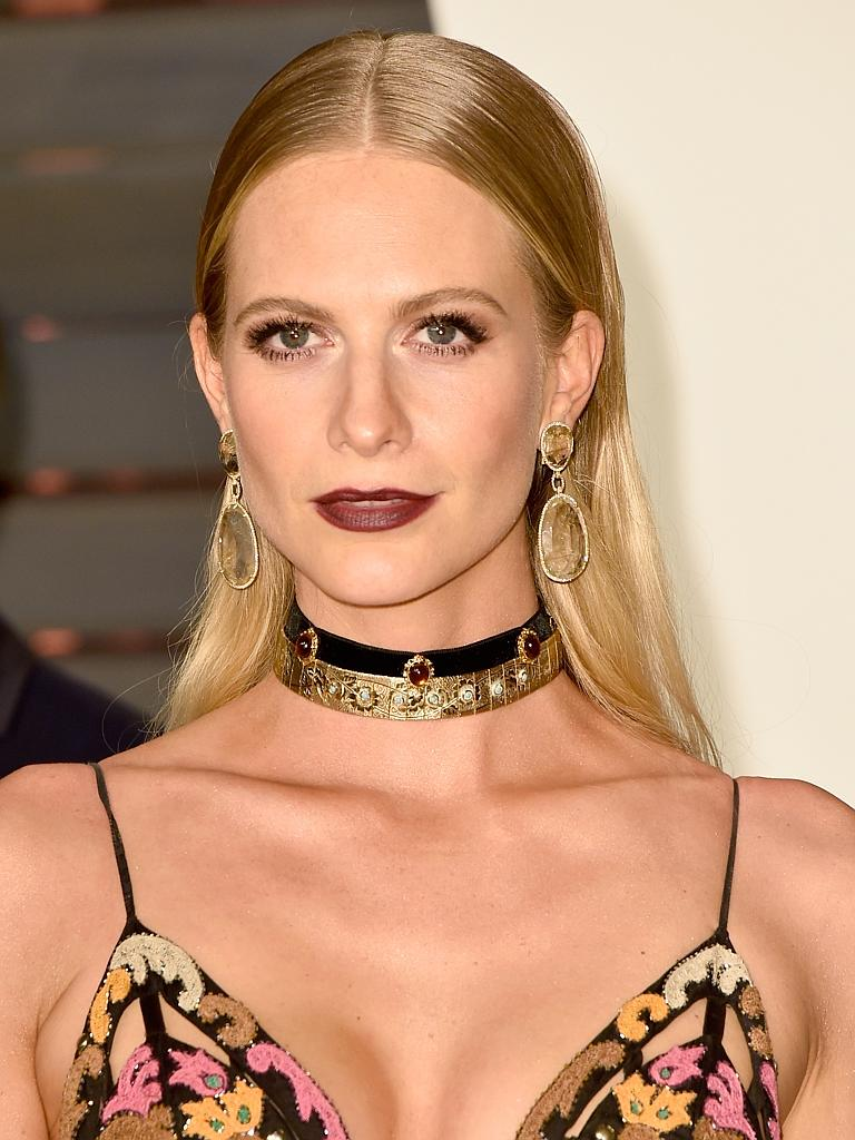 brown lips poppy delevingne