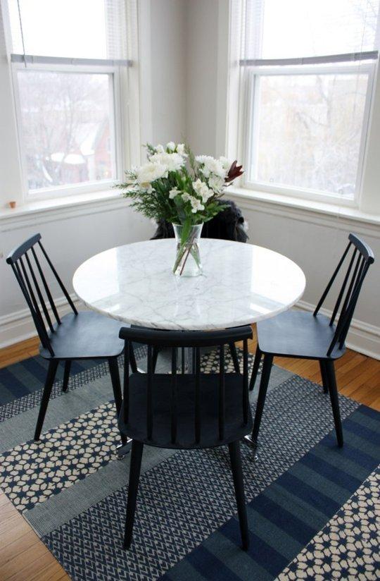 C mo decorar esa esquina la vida de serendipity - Comedores mesa redonda ...