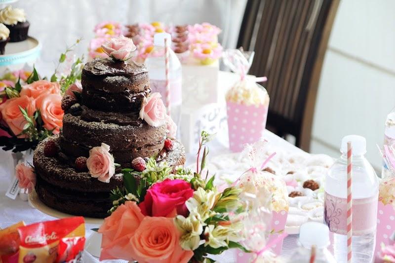 La Florentina Florería Naked Cake