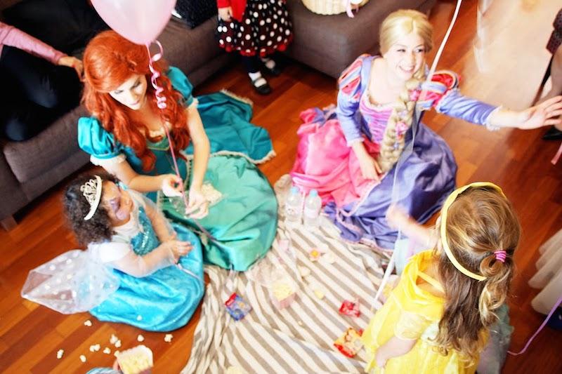 Rapunzel y Ariel - Sueños y Magia