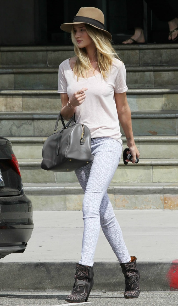rosie huntngton whiteley casual outfits 2