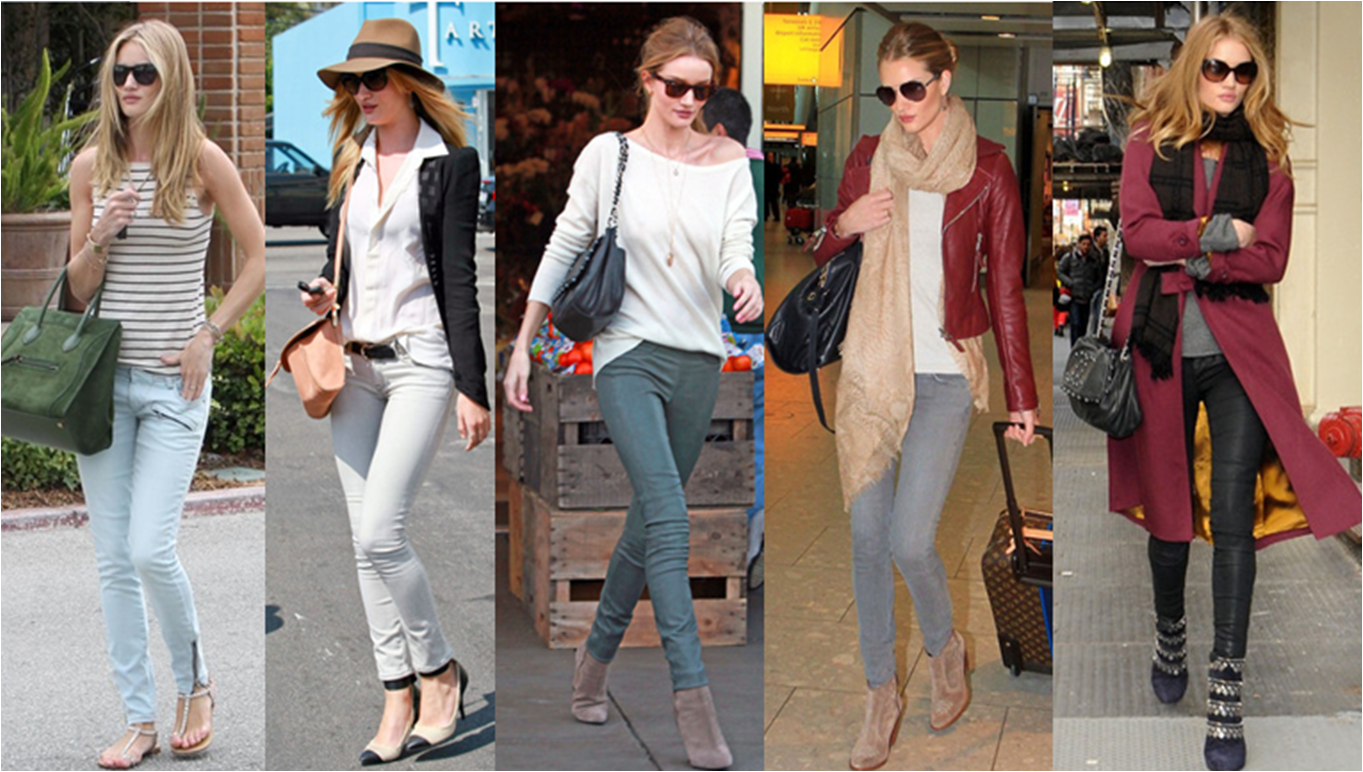rosie huntngton whiteley casual outfits