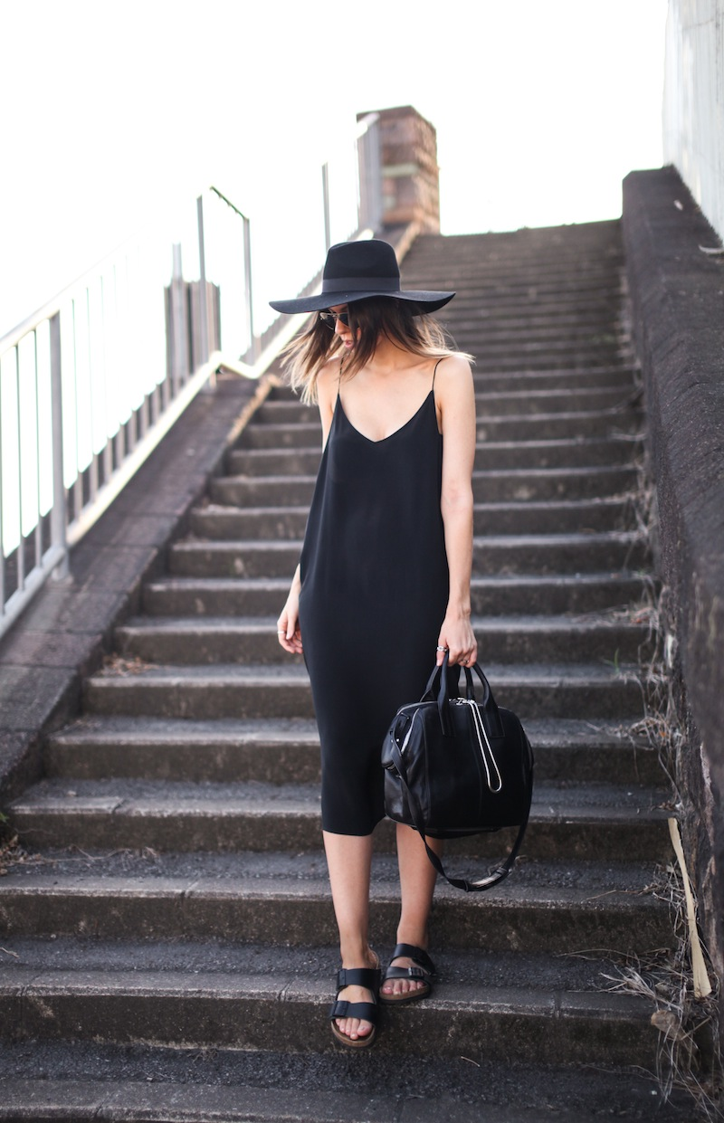 slip dress street style look 4