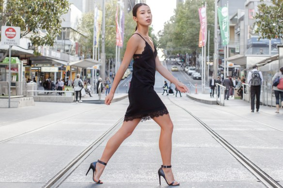 slip dress street style look 6