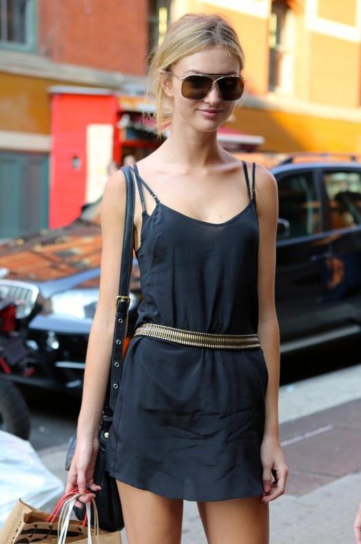 slip dress street style look 7