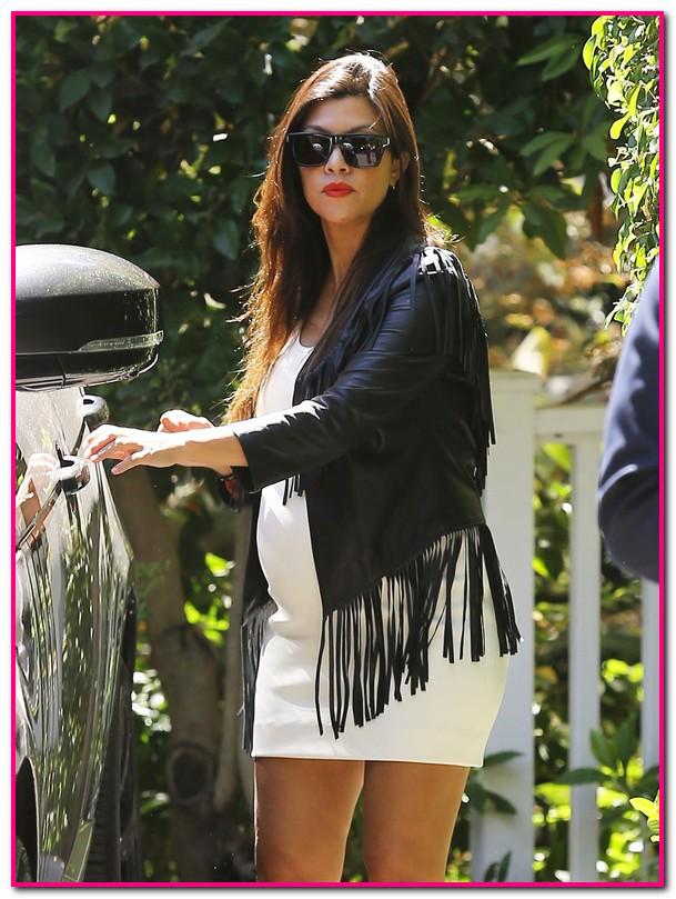 Kim, Khloe, & Kourtney Kardashian Attend Abbey Wilson's Baby Shower