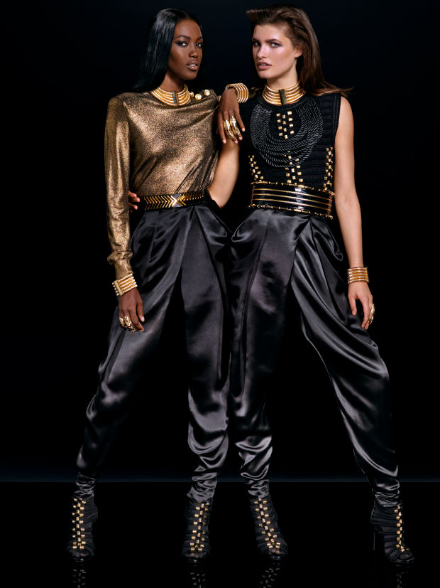 balmain x hm lookbook 10
