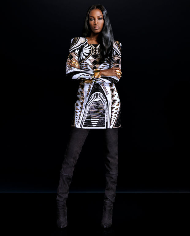balmain x hm lookbook 11