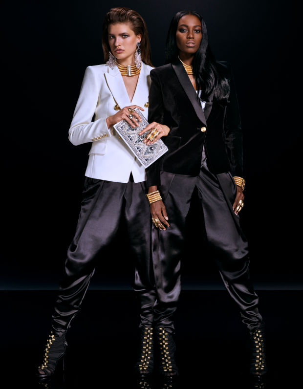 balmain x hm lookbook 13