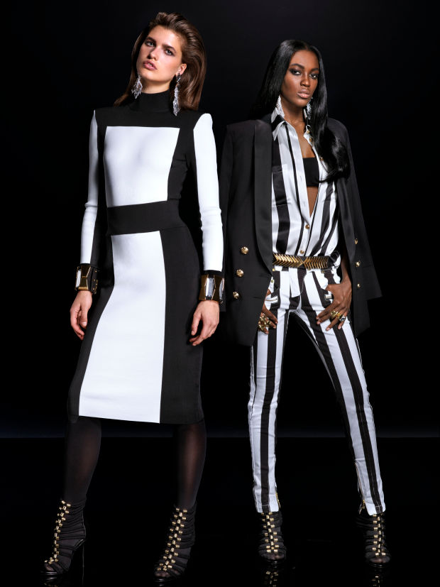 balmain x hm lookbook 14