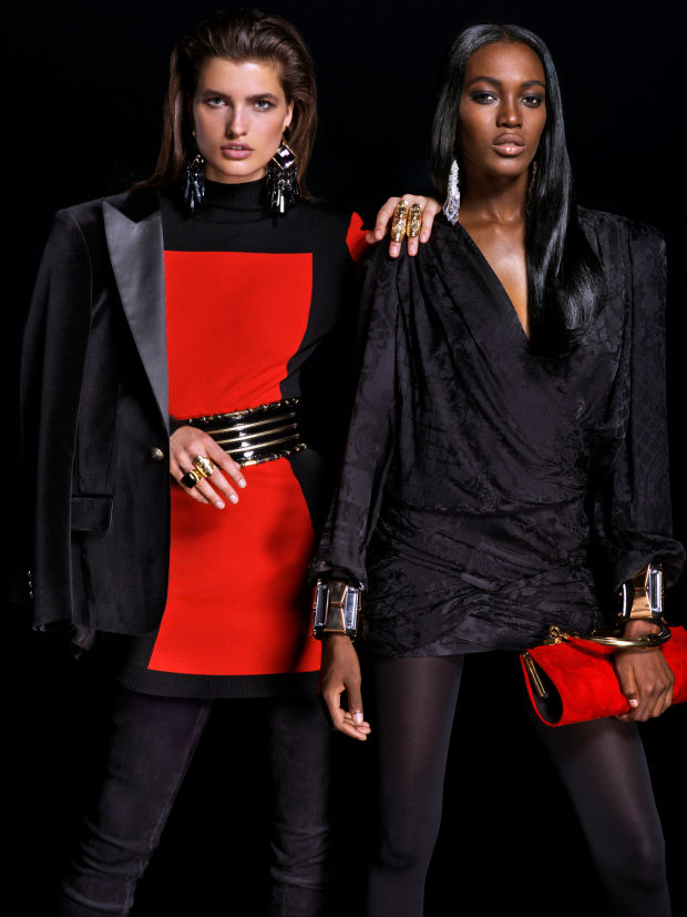 balmain x hm lookbook 15