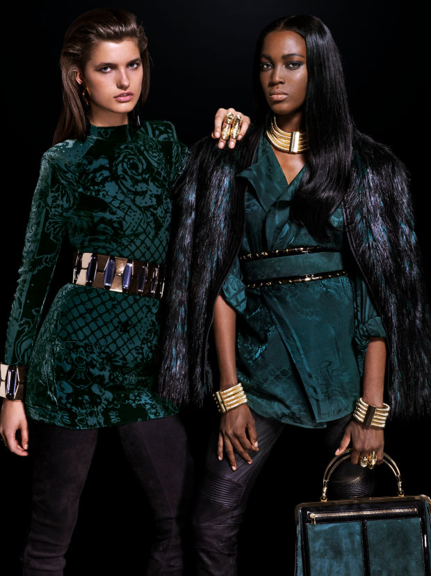 balmain x hm lookbook 7