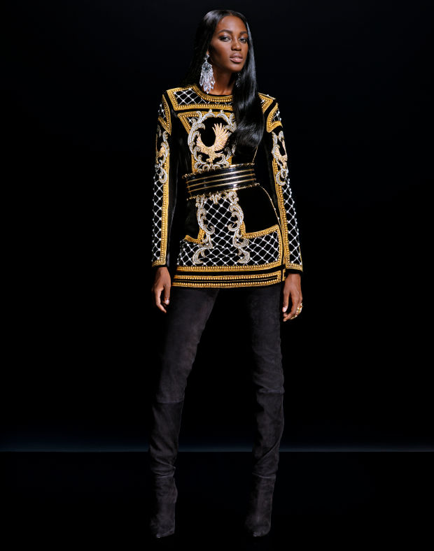 balmain x hm lookbook 8