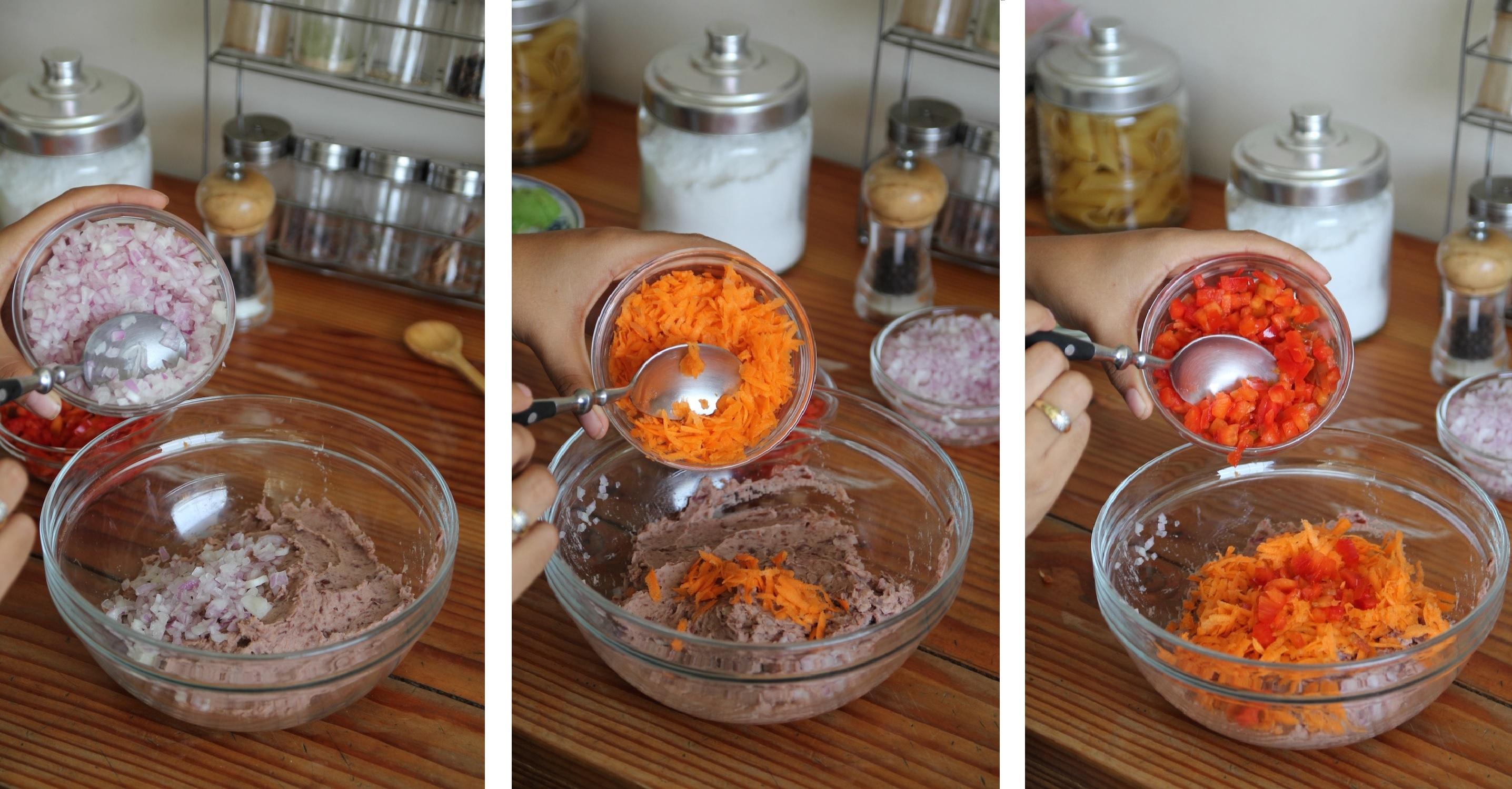 serendipity receta hamburguesas de frejoles 2