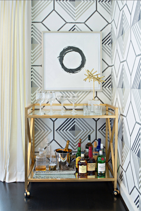 Bar Cart Styling 5