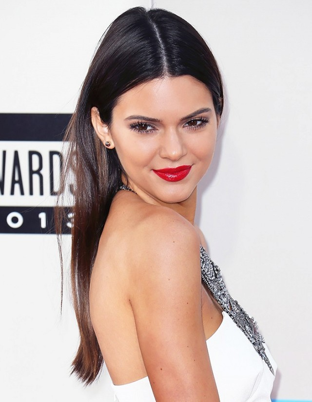 kendall jenner center part style 4