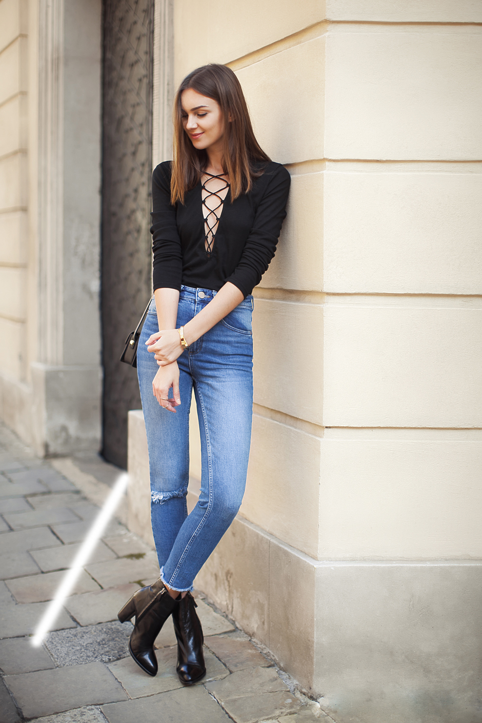 lace up top street style 1