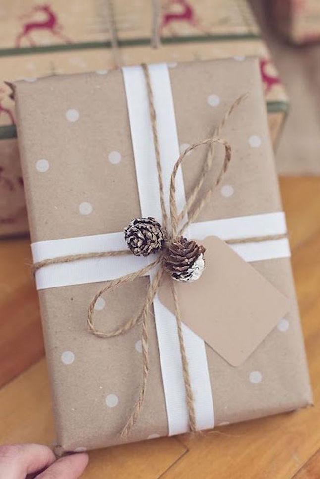 ideas envolver regalos en navidad 9