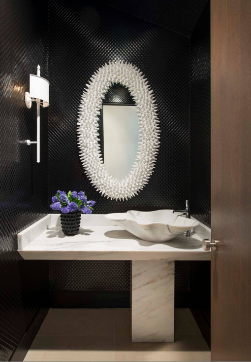 Baño de Visitas Powder Room Tendencias decoracion 2016