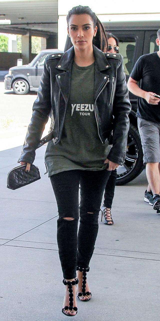 yeezus shirt kim kardashian