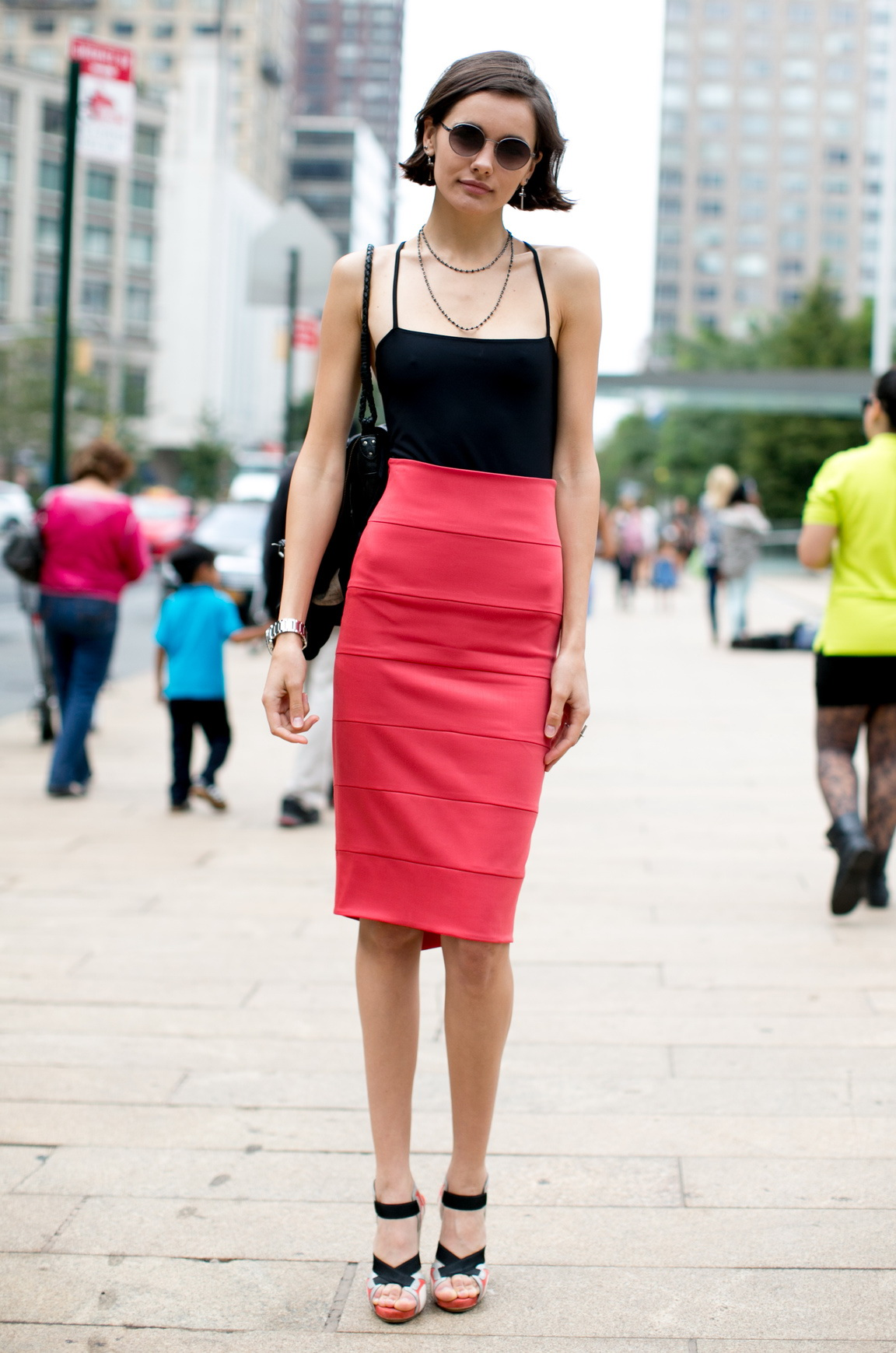 black and red street style 2