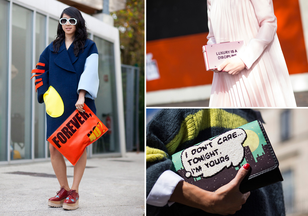 statement bags street style 1