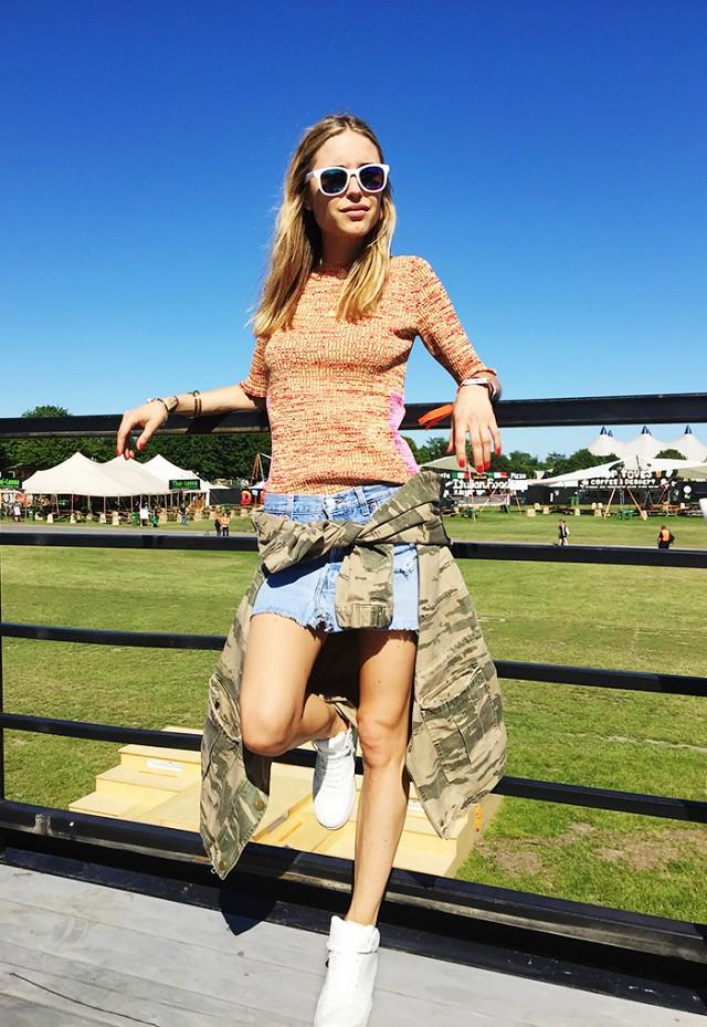 denim mini skirt 2016 look 5