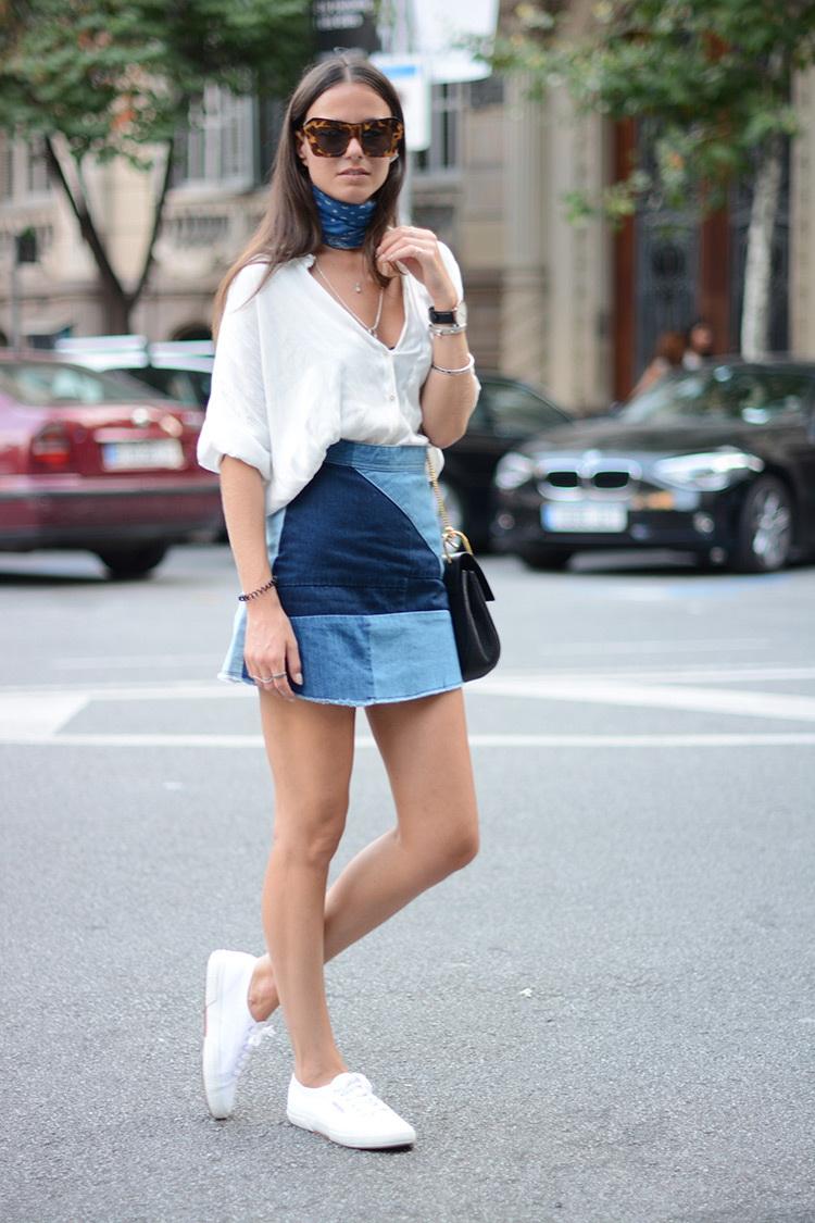 denim mini skirt 2016 style 1